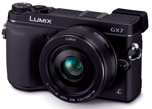 パナソニック ルミックスDMCGX7 ブラック レンズキット ルミックスG 20mmF1.7 II ASPH.