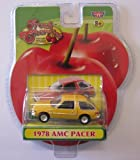 Fresh Cherries Die-Cast Replicas 1978 Yellow AMC Pacer Classic Car by Motor Max