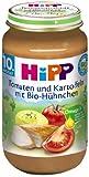Hipp Tomaten und Kartoffeln mit Bio-Hühnchen, 6-er Pack (6 x 220 g) - Bio