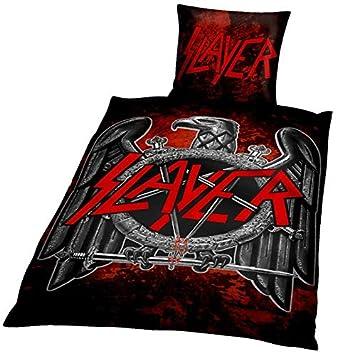 Slayer Eagle Bettwäsche Mehrfarbig Amazonde Küche Haushalt