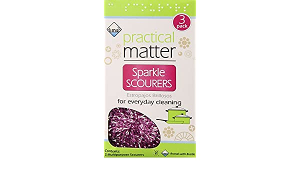 Amazon.com: IMS Trading Sparkle Scourers, 3 Count: Health & Personal Care