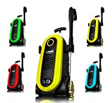 Power Pressure Washer 2300 PSI Electric | Brushless Induction Technology | The Next Generation of Pressure Washer | 3X More Lifespan | Ultra Low Sound | New Design | Power Efficient (Yellow)