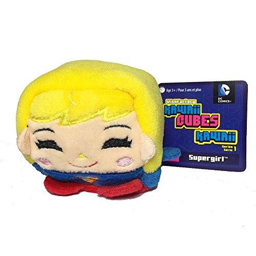 (Wish Factory Kawaii Cube DC Comics: Supergirl Plush, Small)