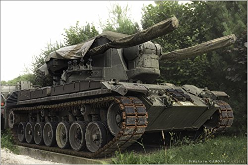 Home Comforts Laminated Poster The Flugabwehrkanonenpanzer Gepard (Anti-Aircraft Cannon Tank Cheetah, Better Known as The Flakpan Vivid Imagery Poster Print 24 x 36