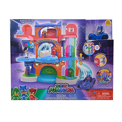 PJ Masks Deluxe Headquarters Playset $39.99 (Was $149) **73% Off**