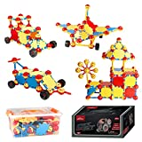 MONILON Building Toys, Kids Learning Educational STEM Toy Set - Creative DIY Engineering Construction Building Blocks Sticks Gifts Toys for Kids Boys Girls Ages 5 6 7 8 9 10 + Years Old
