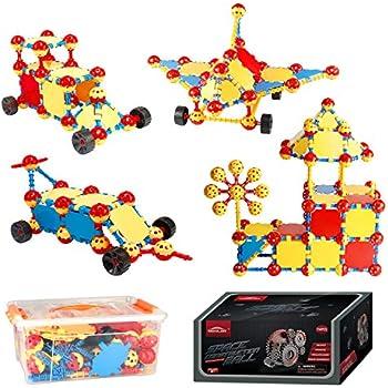 MONILON Building Toys, Kids Learning Educational STEM Toy Set - Creative DIY Engineering Construction Amazon.com: