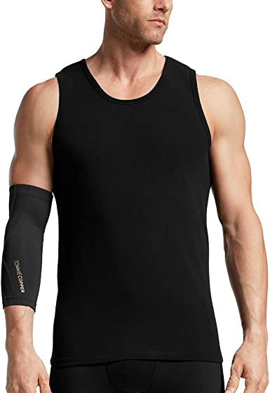 Tommie Copper Mens Unisex Performance Compression Elbow Sleeve