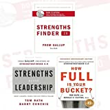 img - for StrengthsFinder 2.0 Collection Tom Rath 3 Books Bundle (A New and Upgraded Edition of the Online Test from Gallup's Now Discover, Strengths Based Leadership, How Full Is Your Bucket?) book / textbook / text book