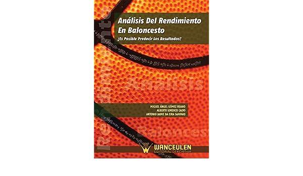 Amazon.com: Analisis del rendimiento en baloncesto: ¿Es ...
