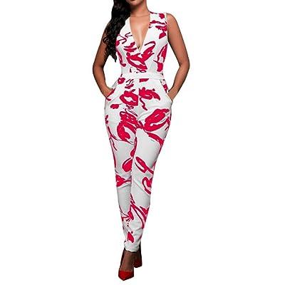 Clode® - Combinaison - À Fleurs - Femme multicolore multicolore - rose -