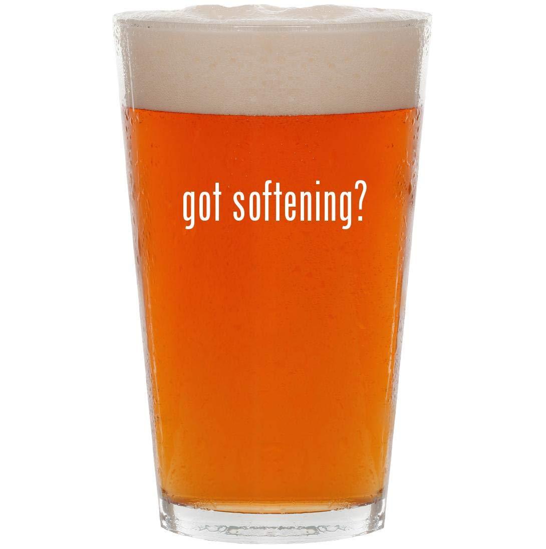 got softening? - 16oz Pint Beer Glass