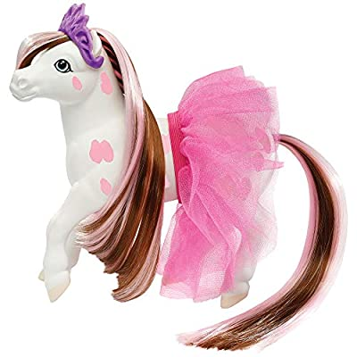 Breyer Color Changing Bath Toy, Blossum The Ballerina Horse, Brown/ White with Surprise Pink Markings, 7