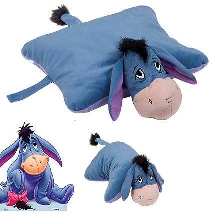 Disney - Almohada extragrande 2 en 1 (46 cm, almohada y peluche),