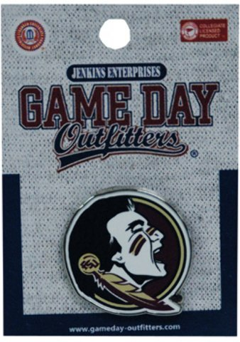 (Game Day Outfitters NCAA Florida State Seminoles Logo Lapel Pin Jewelry, One Size, Multicolor)