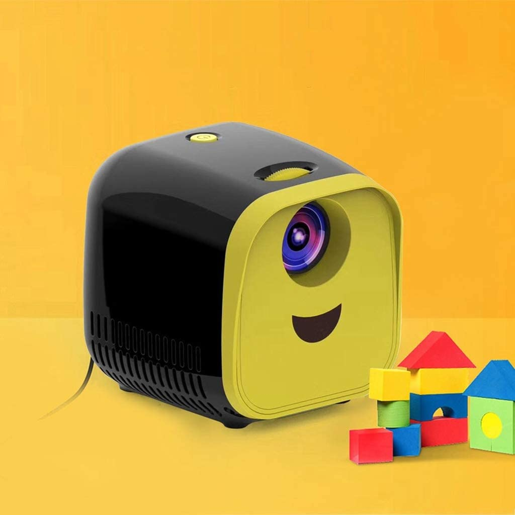 WHLDCD Proyector L1 New Mini Projector WiFi USB Children Portable ...