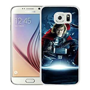 Hot Sale Samsung Galaxy S6 Case ,Thor 01 White Samsung Galaxy S6 Cover Unique And Beautiful Designed Phone Case