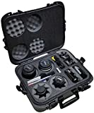Case Club Waterproof DSLR 4 Lens Camera Case