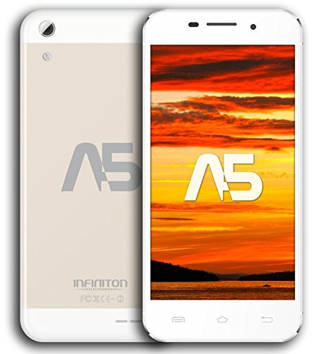 Infiniton-A5-Smartphone-de-5-WiFi-Bluetooth-Quad-Core-13-GHz-Dual-SIM-16-GB-Android-44-KitKat-color-champagne