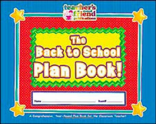 Teacher's Friend Plan Book -  Scholastic, Teacher's Edition, Spiral-bound