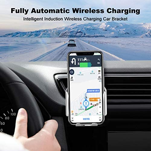 15W高速無線車の充電器マウント、エアベント電話ホルダー、互換性のあるiPhoneの11/11のPro / 11プロマックス/のX MAX/XS/XR/X / 8/8 + /サムスンS10 / S10 + / S9 / S9 + / S8 / S8 +