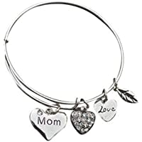 Pulsera con dijes mamá - mamá joyería - pulseras para mamá, el regalo perfecto para mamá