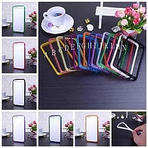 HP - Color sólido marco de parachoques TPU suave para iPhone 6 (colores surtidos), A