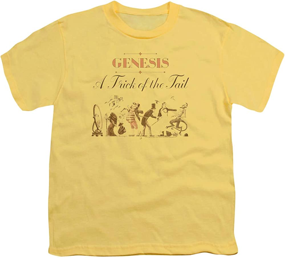 Genesis Trick of The Tail Unisex Youth T Shirt for Boys and Girls