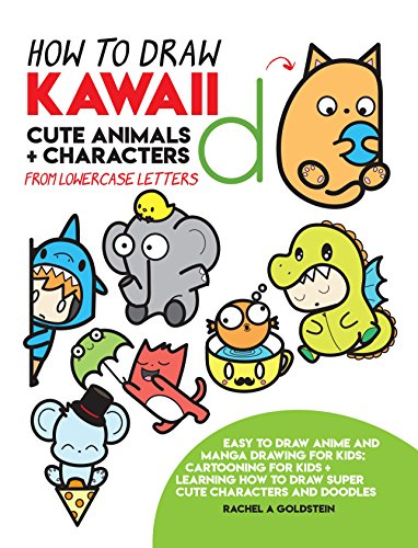 How To Draw Kawaii Cute Animals Characters From Lowercase Letters