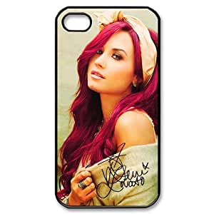 Customize Singer Demi Lovato Cellphone Case Fits for Apple iphone 4 4S JN4S-1843