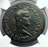 68 IT GALBA 68AD Sestertius NGC Certified XF Rare Authe coin XF NGC