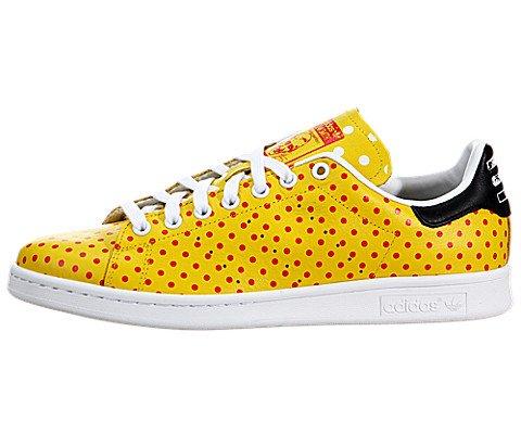 Adidas Originals Pharrell Stan Smith Polka Dot Mens Tennis Shoes B25402 Yellow Red Future White 6 M Us