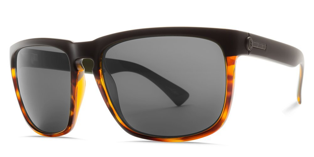 Electric Visual Knoxville XL Matte Black//OHM Polarized Bronze Sunglasses