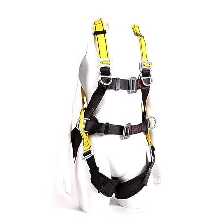 Arnés de Escalada, Cinturón de Seguridad de Medio Cuerpo Ajustable ...