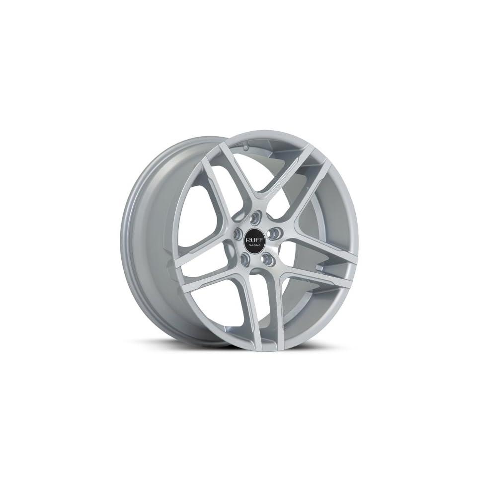 Ruff Racing R954 20x8.5 20x10 BMW 5 6 7 Series Wheels Rims Machine Face Silver Lip Wheels 4pc 1set