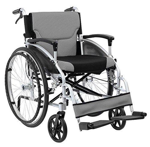 Faltbare Alu Selbstfahrer Rollstuhl Mit Telefonzentrale handbrems