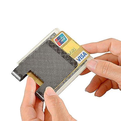 Carbon Fiber Money Clip, CL CARBONLIFE Business card holder RFID Protector Credit card holder wallet Glossy clips for Men