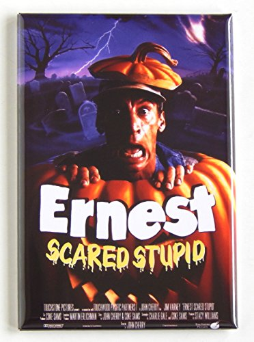Ernest Scared Stupid Movie Poster Fridge Magnet (2 x 3 inches)