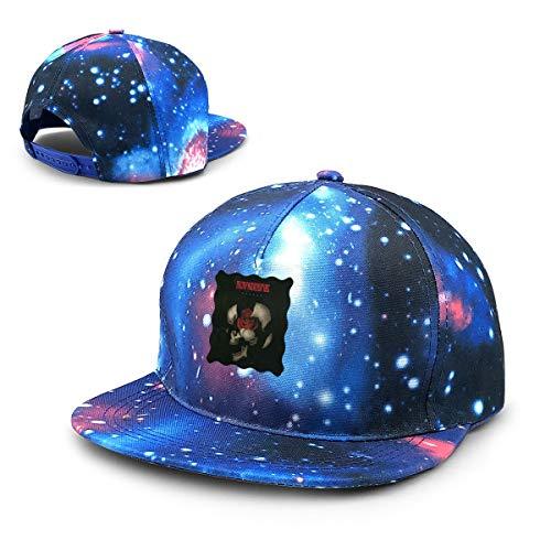Twocjlrq Memphis May Fire Particular Unisex Adult Adjustable Snapback Baseball Cap Blue
