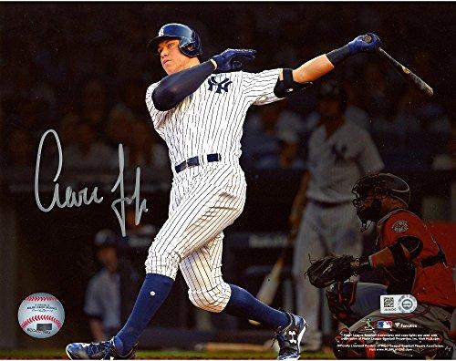 Aaron Photograph - Aaron Judge New York Yankees Autographed 8