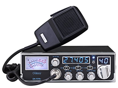 Mobile AM/SSB CB Radio with Frequency Counter & Backlit Faceplate in a Mid Size Chassis – 7.25″ Wide For Sale