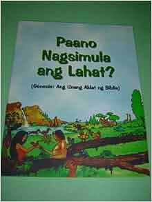 Tagalog Children's Bible GENESIS Portion 52 pages Color