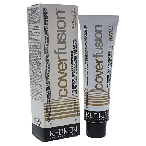 Redken Cover Fusion Low Ammonia, 7NCR Natural Copper Red, 2.1 Ounce ()