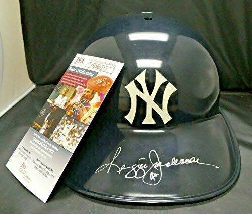 Reggie Jackson Autographed Signed Ny Yankees Batting Helmet With JSA COA - Authentic Memorabilia