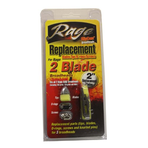 Rage 2 Replacement Blades (Pack of 3)
