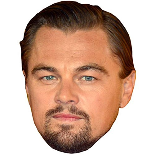 Leonardo Di Caprio Celebrity Mask, Card Face and Fancy Dress Mask