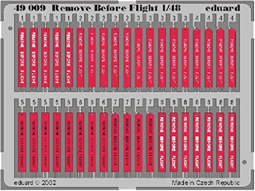 Eduard 1/48 Remove Before Flight Tags # 49009 from Eduard