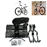 pitcher frame set - Make Space Storage Rack Lift MTB Holder Working Space Saving House Ceiling Mount Hook Hanger Rack Novelty Gift Home Storage Rider Ideas Suitable for Home/Room/Garage etc. RCC5S1