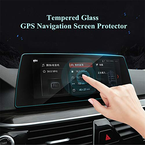 Anti-Scratch Tempered Glass GPS Navigation Screen Protector Foil for BMW 5 Series G30 2017-2019 (12.3 inch)