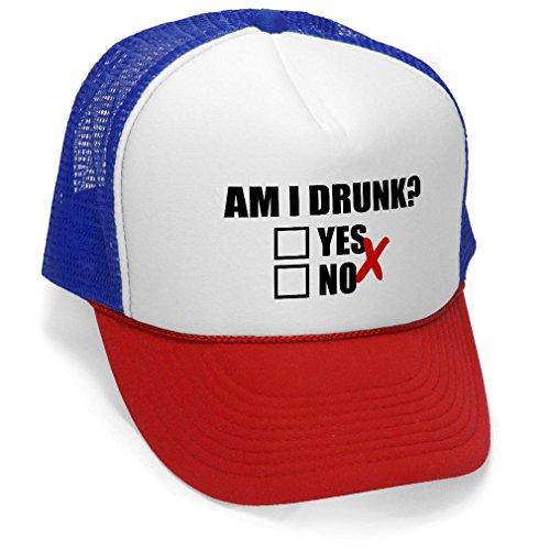 AM DRUNK Unisex Adult Trucker